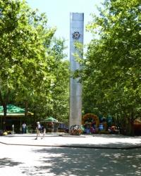 Памятник воинам-освободителям (Юбилейный парк) в Феодосии