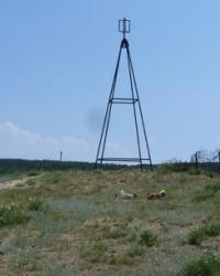 Триангуляция на горе Митридат в Феодоссии