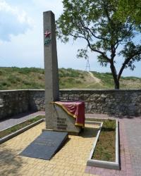 Братская могила воинов-десантников на горе Митридат