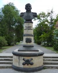 Памятник Вице-адмиралу Соковнину в Феодосии