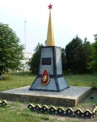 Обелиск Ковачеву в с.Зеленовка (Приморский р-н)
