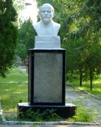 Бюст В.И.Ленина (лагерь «Морская волна») в г.Бердянск