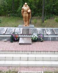Братская могила близ с.Зеленый Гай (Васильевский р-н)