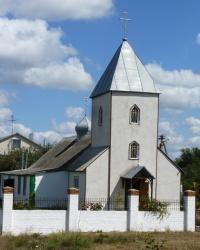 Свято-Троицкий храм в с. Волохов Яр