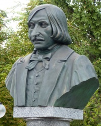 Бюст Н.Гоголя в санатории им. Гоголя (г.Миргород)