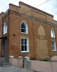 Церковь меннонитов 1875г. (сейчас спортивная школа) в г.Новомосковск