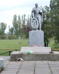 Братская могила в с.Новополье (Криворожский р-н)