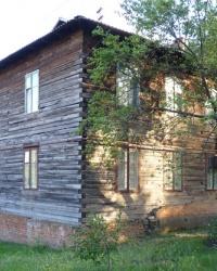 Деревянный 2-х эт. дом по ул.Авиационная, 11