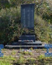 Мемориал воинам-землякам в с.Бережновка (Кобелякский р-н)