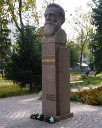 Пам'ятник М. В. Скліфосовському у м.Полтава