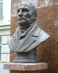 Памятник Остроградскому М.В. в г.Полтава