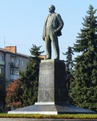 Памятник Ленину В.И. в г.Полтава