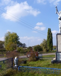 Братская могила в с.Дрижина Гребля (Кобелякский р-н)
