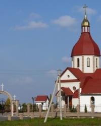 Храм Преображения Господня в с.Дрижина Гребля