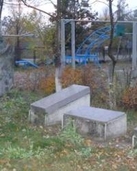 Памятный знак воинам-односельчанам; Калиниченко Н.П. в с.Хащевое