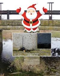 По пути к Деду Морозу. Тайник