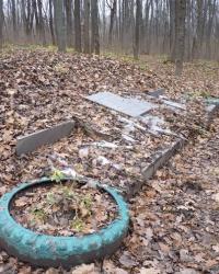 Братская могила 2 тыс. советских жителей в г.Полтава