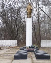 Памятник воинам-односельчанам в с.Хуторо-Губиниха (Новомосковский р-н)