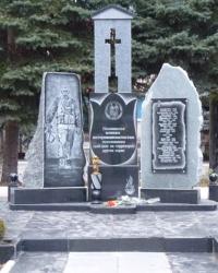 Памятник воинам-интернационалистам (2) в пгт. Новая Водолага