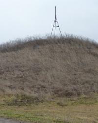 Курган Могила-Высокая 7м (Высота 136.7) возле с.Саксагань