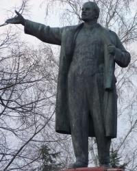 Памятник В.И.Ленину в г.Пятихатки