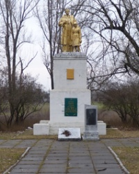 Братская могила в с.Малая Калиновка (Солонянский р-н)