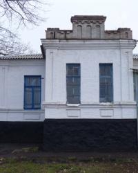 Здание церковно-приходской школы 1914 года (средняя школа) в с.Новомарьевка