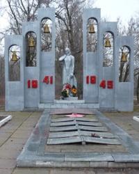 Братская могила в с.Ветровка (Криничанский р-н)