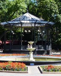 Городской сад в г. Одесса