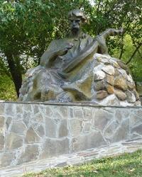 """Памятник """"Кобзарь"""" в г. Чигирин"""