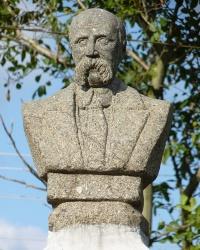Пам'ятник Кобзарю в селі Леськи