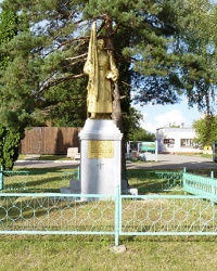 Памятник воинам-односельчанам в с. Леськи