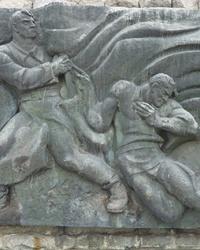 Братская могила 3619 воинов на Холме Славы в г. Черкассы