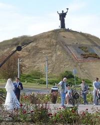 """Монумент """"Родина Мать"""" на Холме Славы в г. Черкассы"""