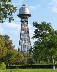 Гиперболоидная водонапорная башня в г. Черкассы