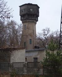 Водонапорная башня в ДИИТе, г. Днепропетровск