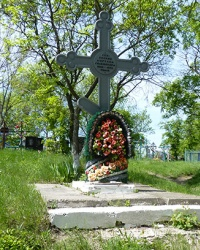 Пам'ятний знак Голодомору (1932-33 років) (2) у смт. Царичанка