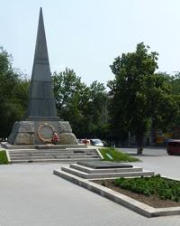 """Меморіальний комплекс """"Вічний вогонь"""" в м. Умань"""