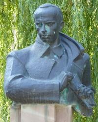 Пам'ятник С.Бандері в Теребовлі