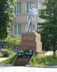 Пам'ятник Шевченко Т.Г. в Теребовлі