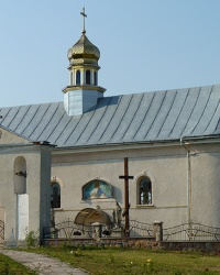 Церква Святого Дмитрія (1840 р.) в с. Острівець