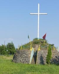 Пам'ятник «Борцям за Волю України» (курган) в с. Хмелівка