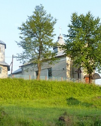 Церква св. Димитрія (1924 р.) в с. Комарівка