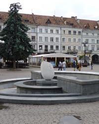 Пам'ятник яйцю в Івано-Франківську