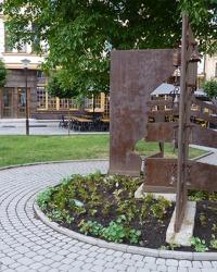 Пам'ятник першій українській церкві в Івано-Франківську
