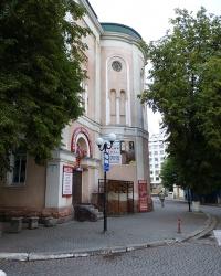 Синагога Темпель (1899 р., Івано-Франківська синагога) м. Івано-Франківськ