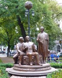 Пам'ятник діячам «Руської трійці» в м. Івано-Франківськ