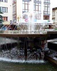 Фонтан на Вічевому майдані в м. Івано-Франківськ
