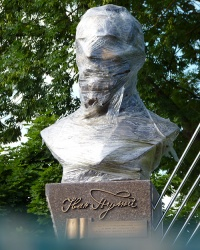 Пам'ятник Івану Пулюю в м. Івано-Франківськ