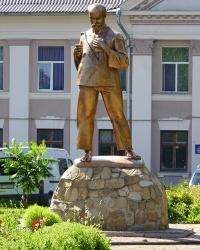 Пам'ятник Т.Г.Шевченку в с. Лисець